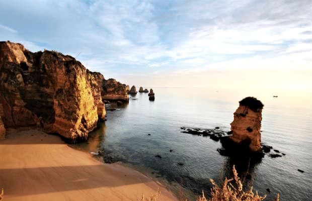 Algarve – skaliste wybrzeże Portugalii